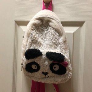 Claire's Club Mini Panda Backpack